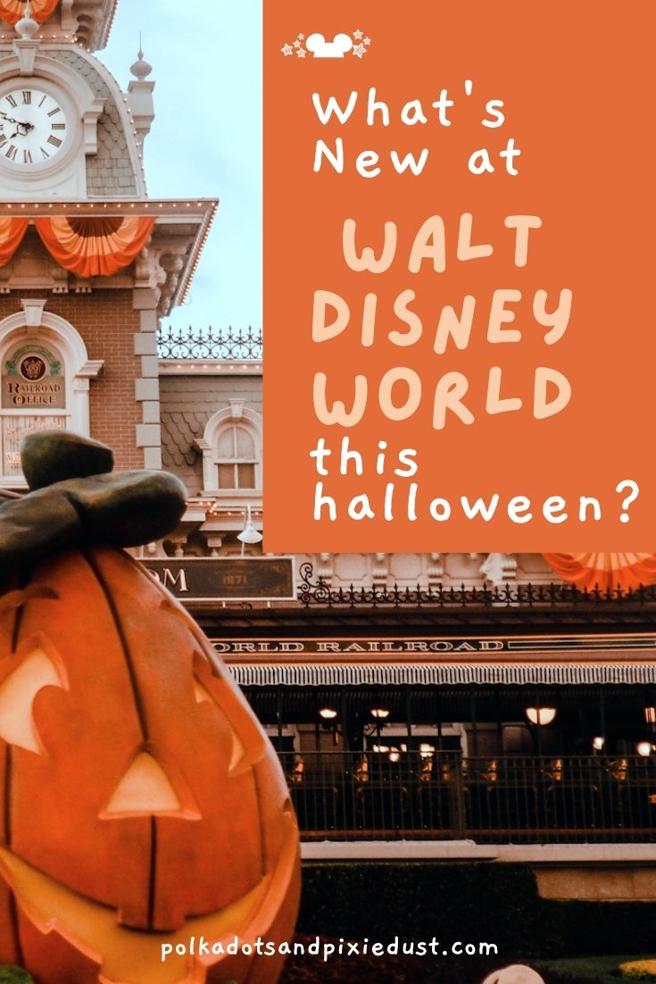 What's New for Halloween at Walt Disney World? This year?