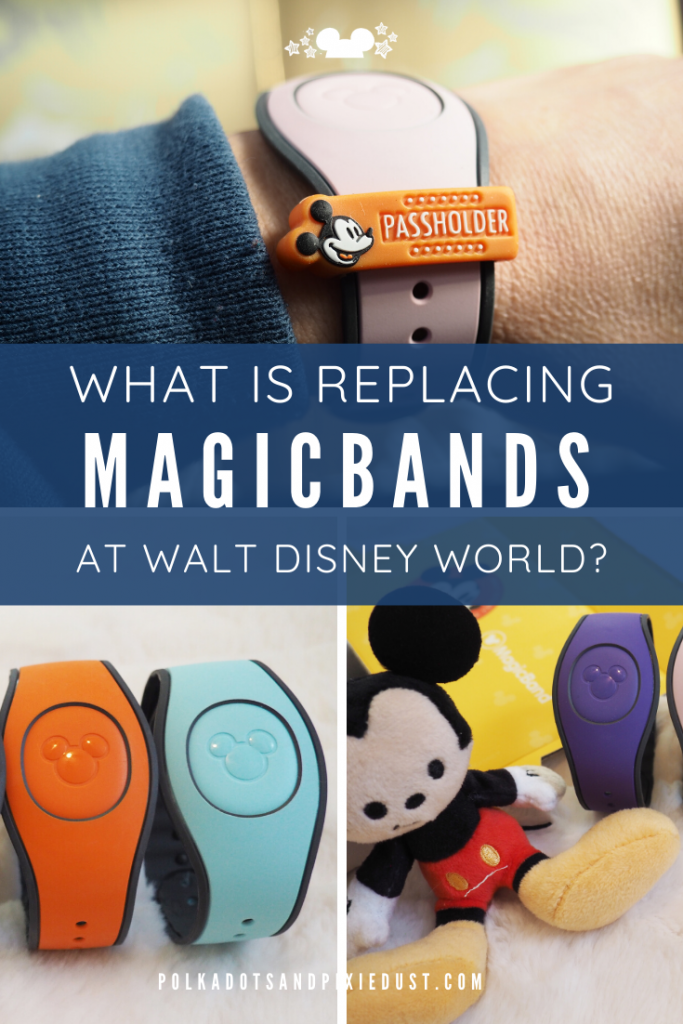 MagicBands at Walt Disney World are no longer complimentary with a Disney Resort Stay. Does this mean they're going away? And if so, what is replacing MagicBands? And How Long can they still be used ? Here's all the answers so far on the Magicband Changes at Walt Disney World. #disney2020 #polkadotpixies