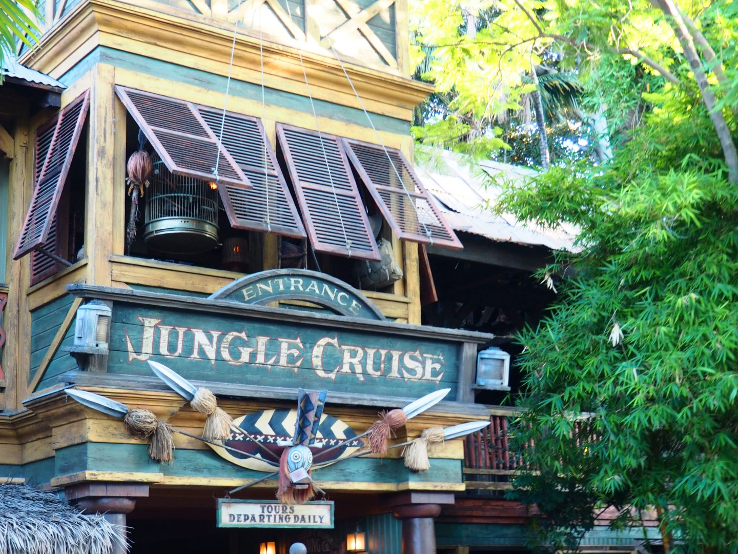 disneyland jungle cruise map