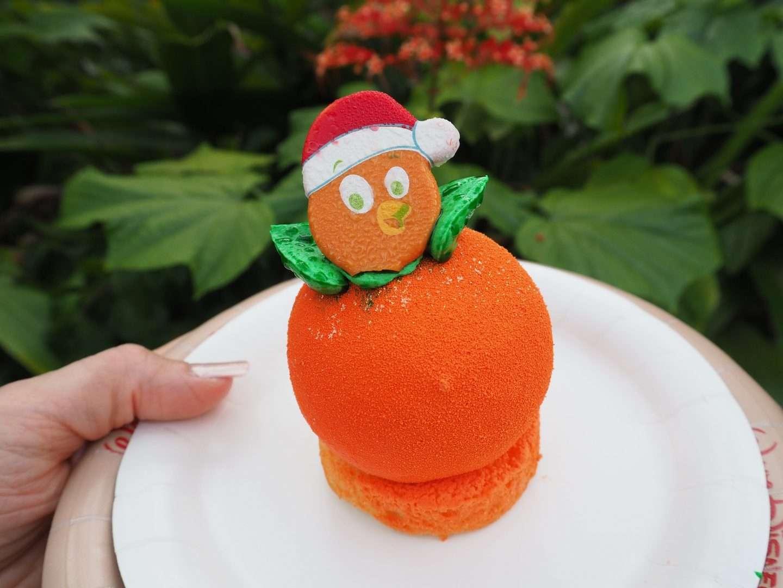 Orange Bird Christmas Snack at Walt Disney World