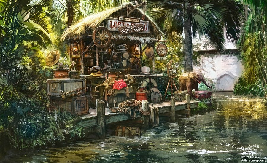 scenes at jungle crusie changing