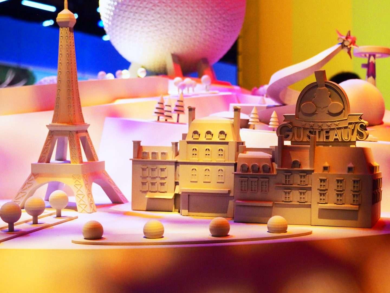 Remys ratatouille adventure in EPCOT Disney world