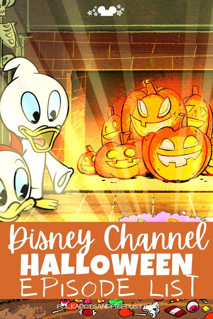 Disney Halloween Shows for the spooky season are all on Disney Plus. Here are all our favorite Disney Channel episodes you can find for Hallowen! #disneyhalloween #disneychannel