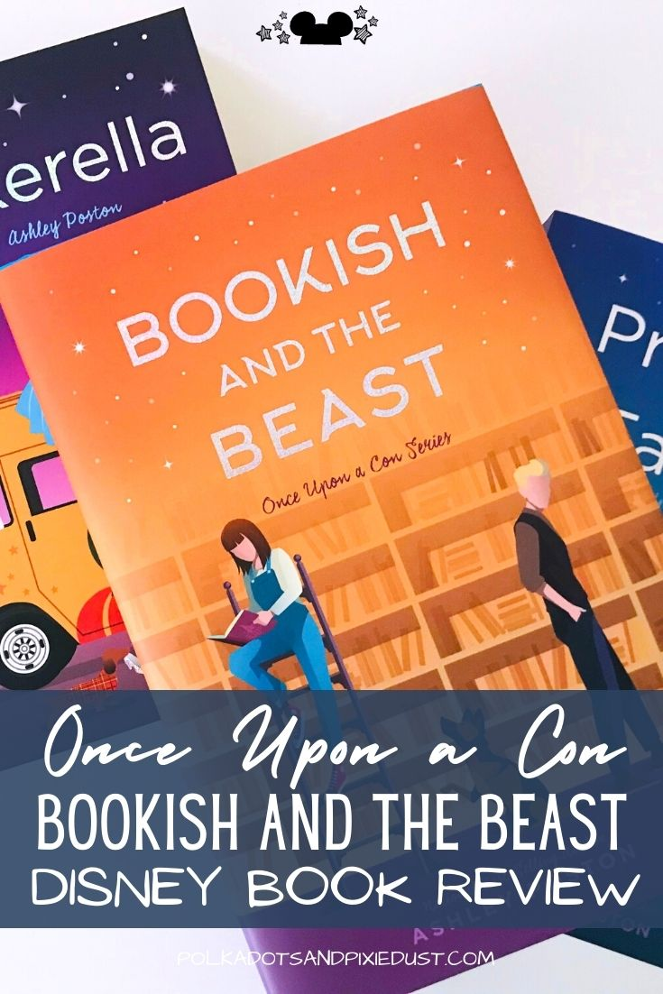 Beauty and the Beast Retellings are simply the best. And Bookish and the Beast is right up there with the best of them. This Disney YA novel combines a stuck up a celeb and a small town girl looking for adventure. Check out our review of Ashley Poston's Bookish and the Beast #disneybooks #polkadotpixies