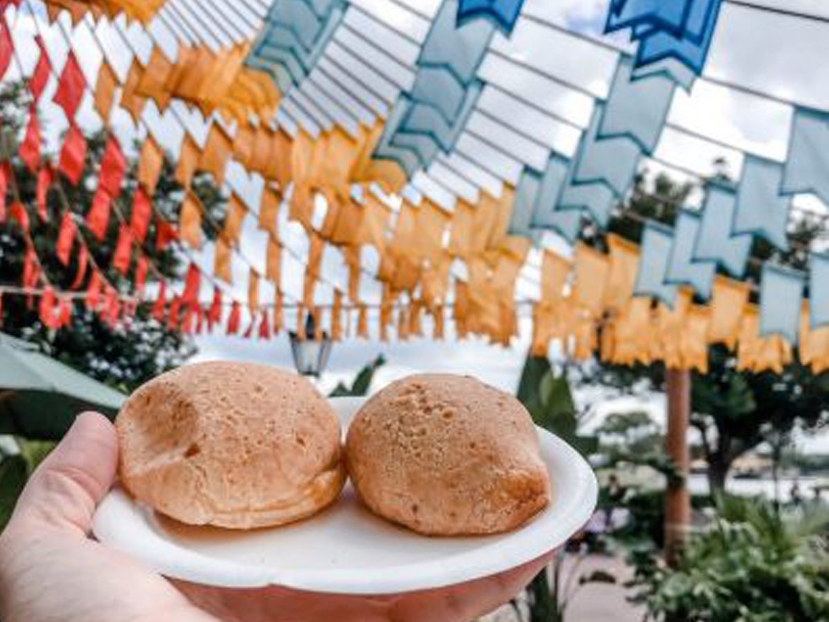 Brazilian Cheesy Bread Disney Recipe from the Food and Wine Festival