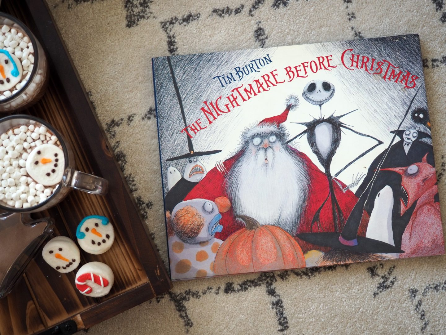 Nightmare Before Christmas Book for the Holiday