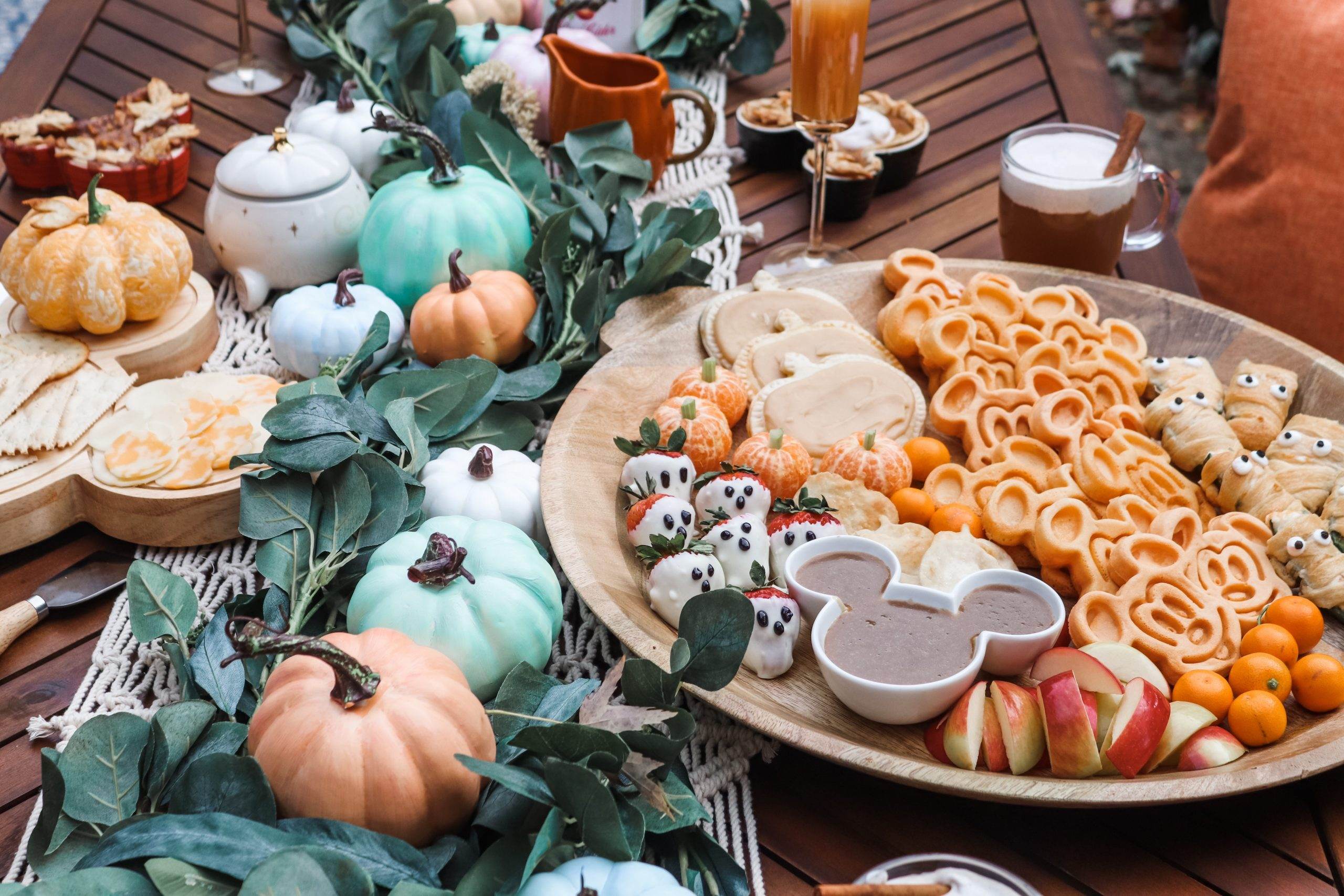 Disney Fall Brunch Board