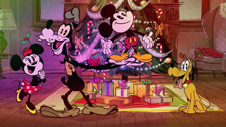 Disney Channel Christmas Disney Plus Shows Duck the Halls
