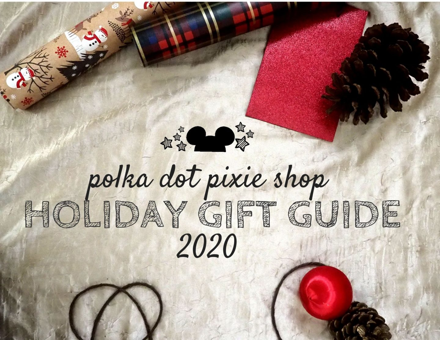 Disney Christmas Gift Guide from Polka Dot Pixie Shop