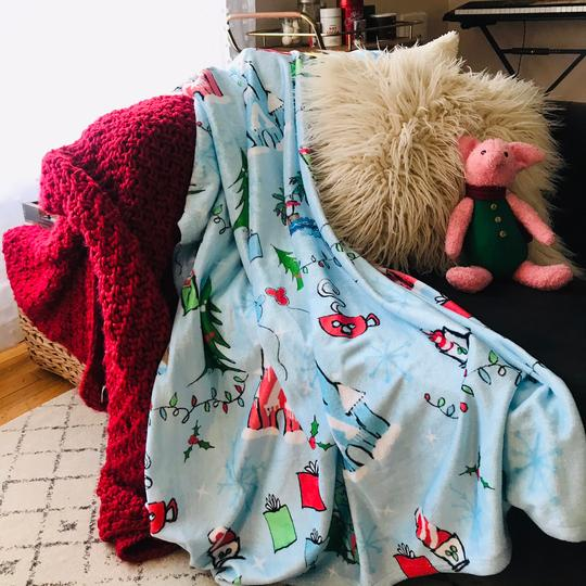 Disney Blankets and Throw Pillows
