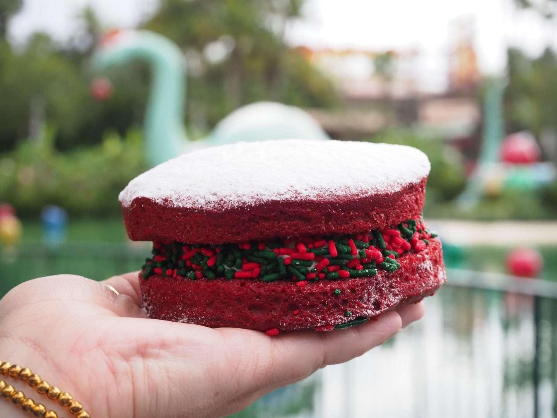disney christmas whoopie pie at hollywood studios