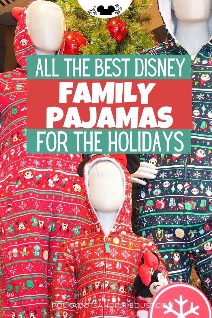 Disney Family Pajamas for Christmas