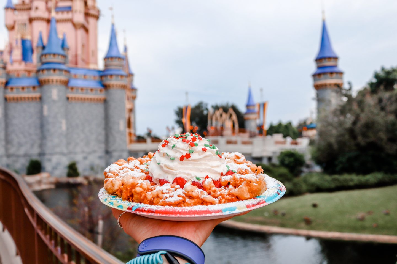 Christmas Snacks at Walt Disney World