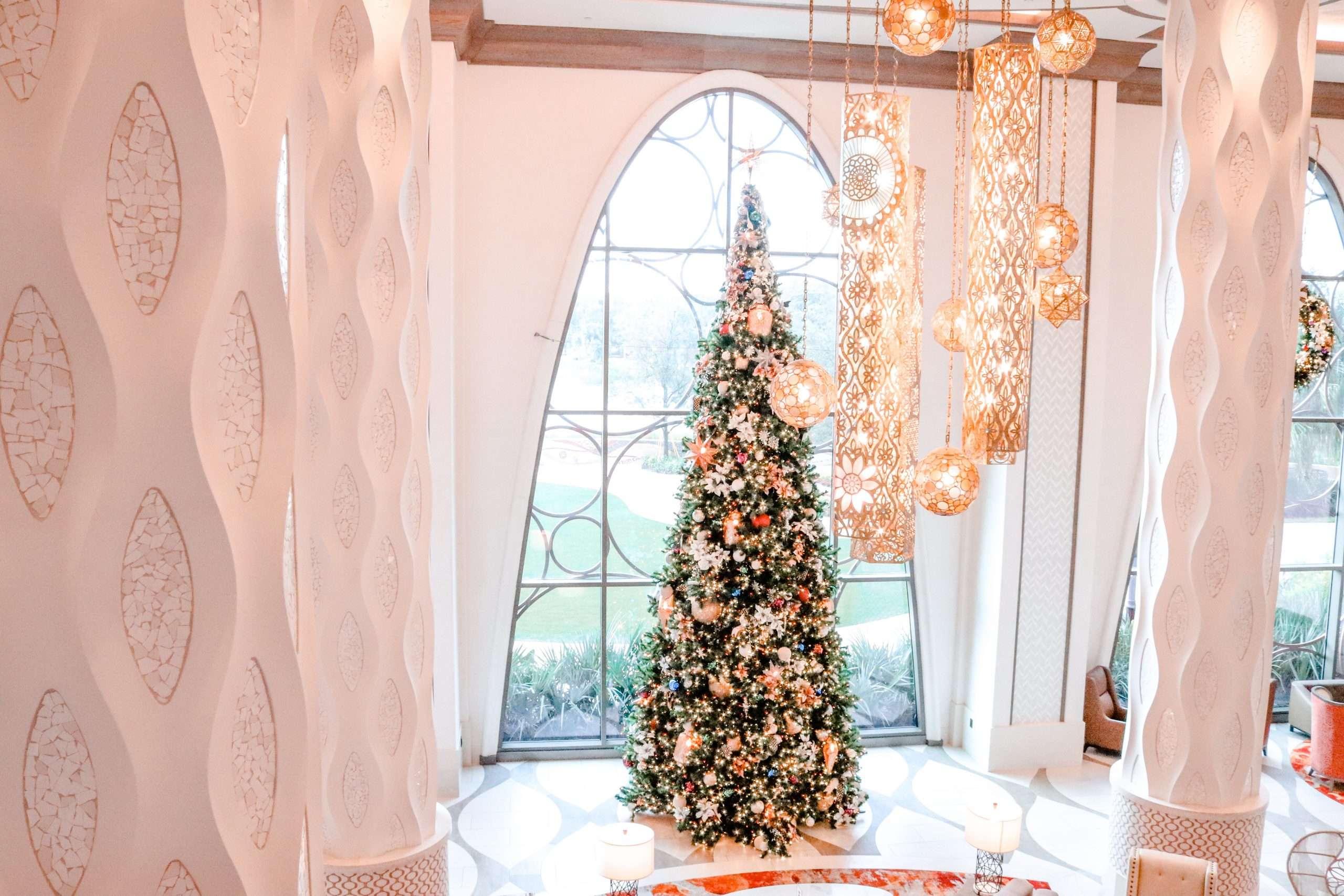 Disney Resort Decorations Holiday Tour at Walt Disney World