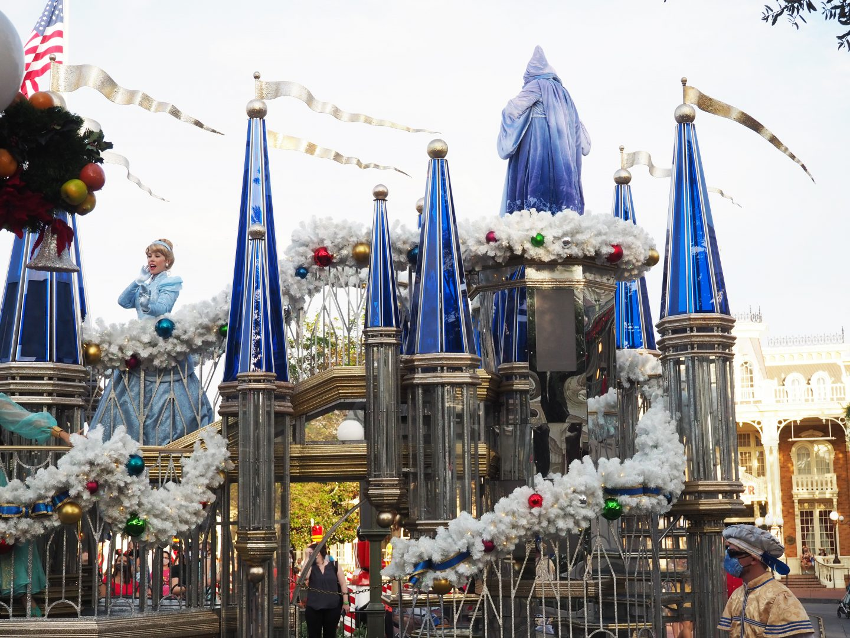 Disney Christmas Cavalcades at Disney World