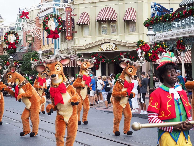 Christmas Cavalcade at Disney Magic Kingdom