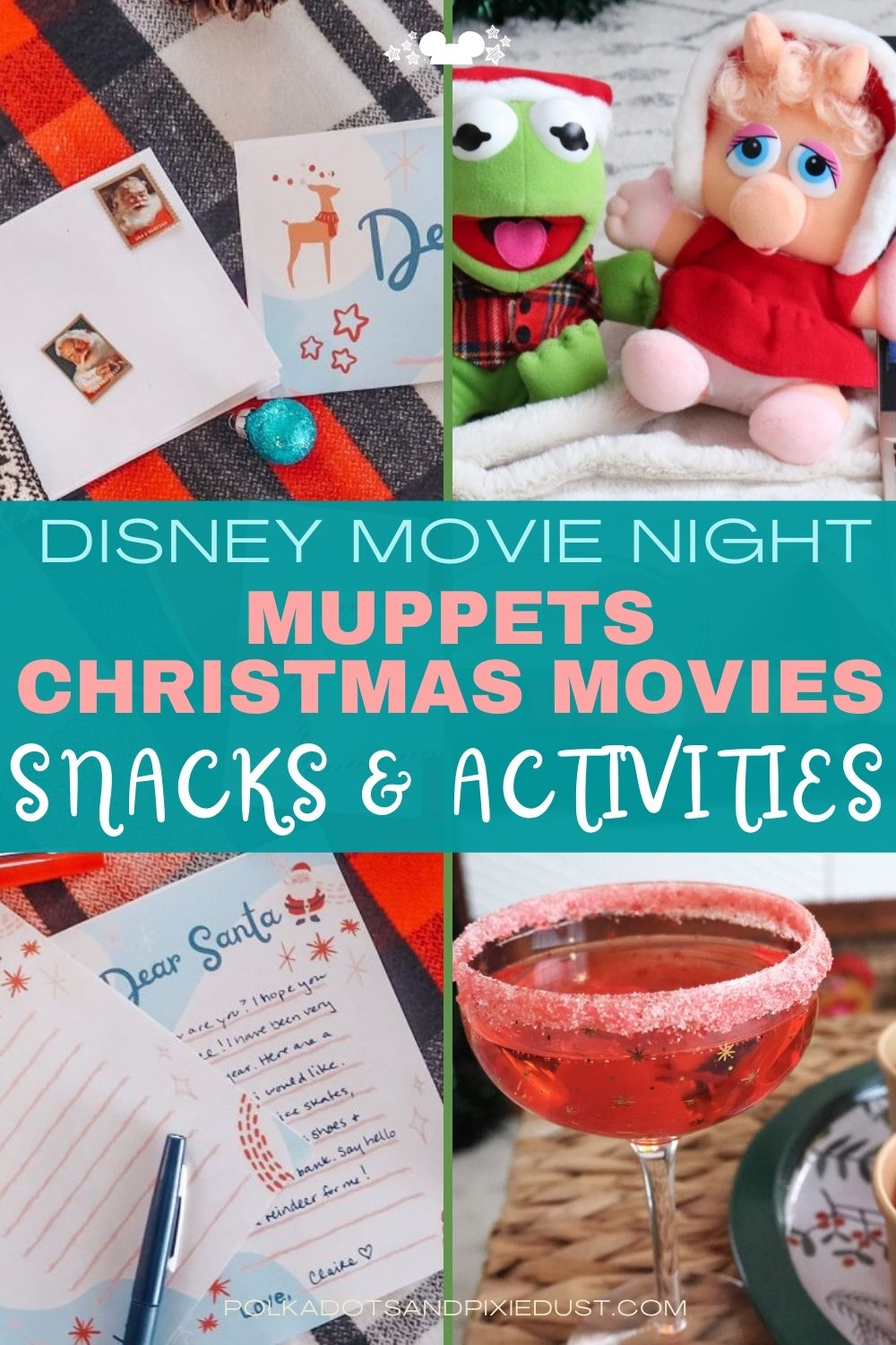Muppets Christmas Movie Marathon Snacks and Activities for your Disney Christmas at home
