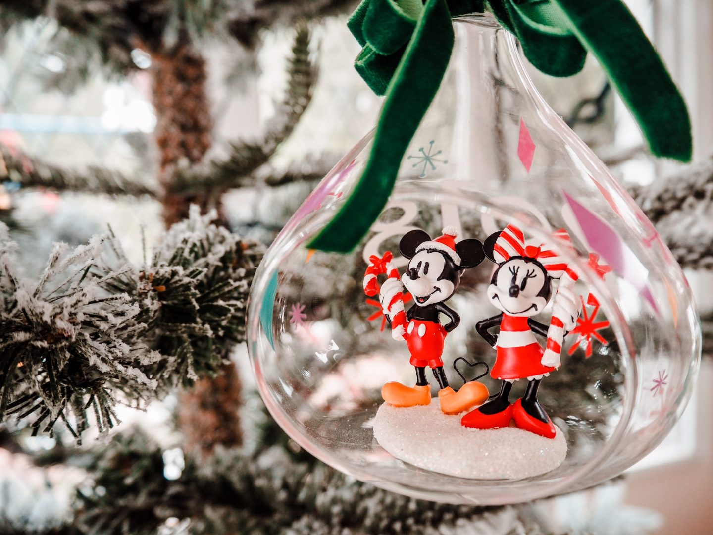 Christmas Decorations Mickey and Minnie Mouse