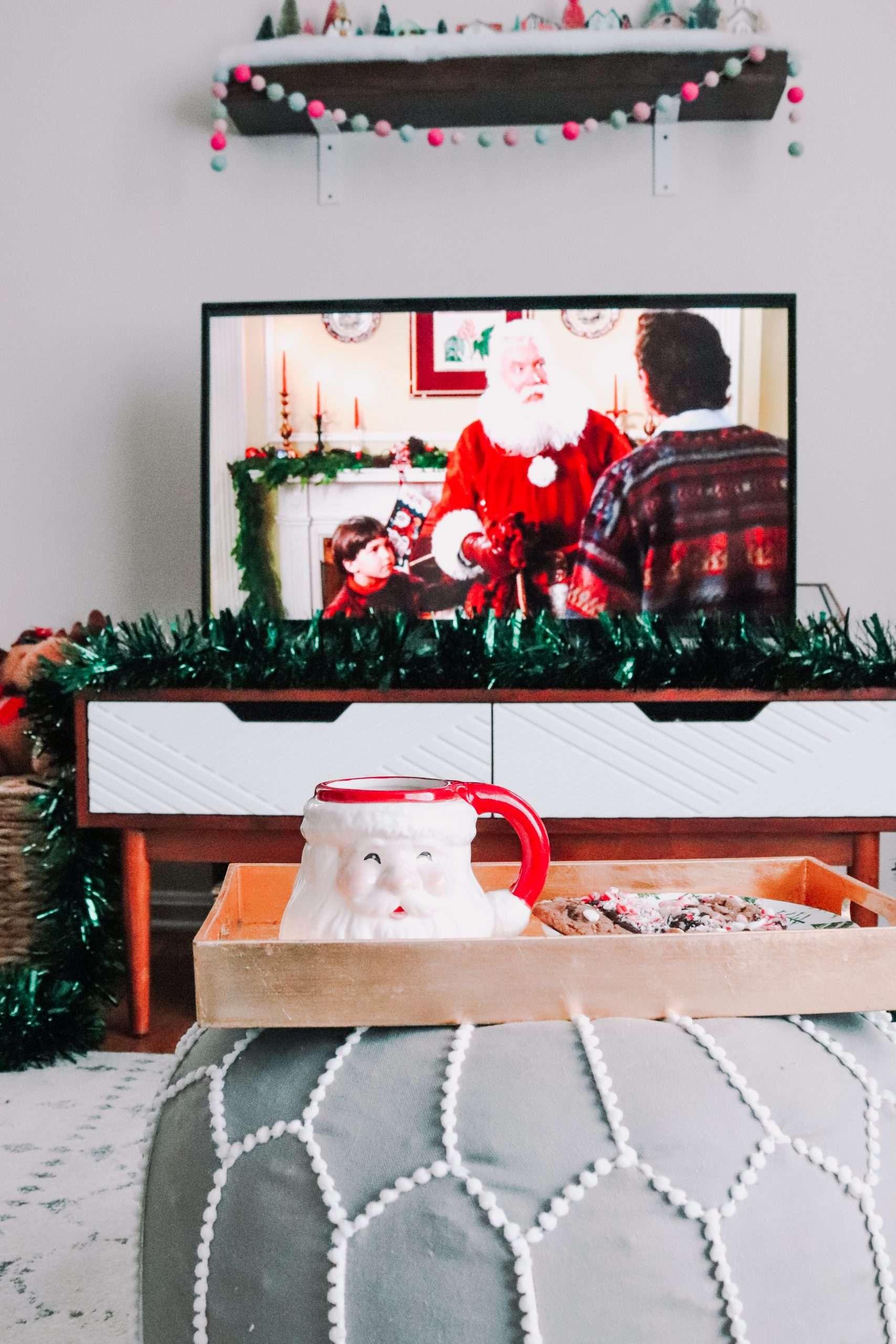 A Santa Clause Movie Night Marathon