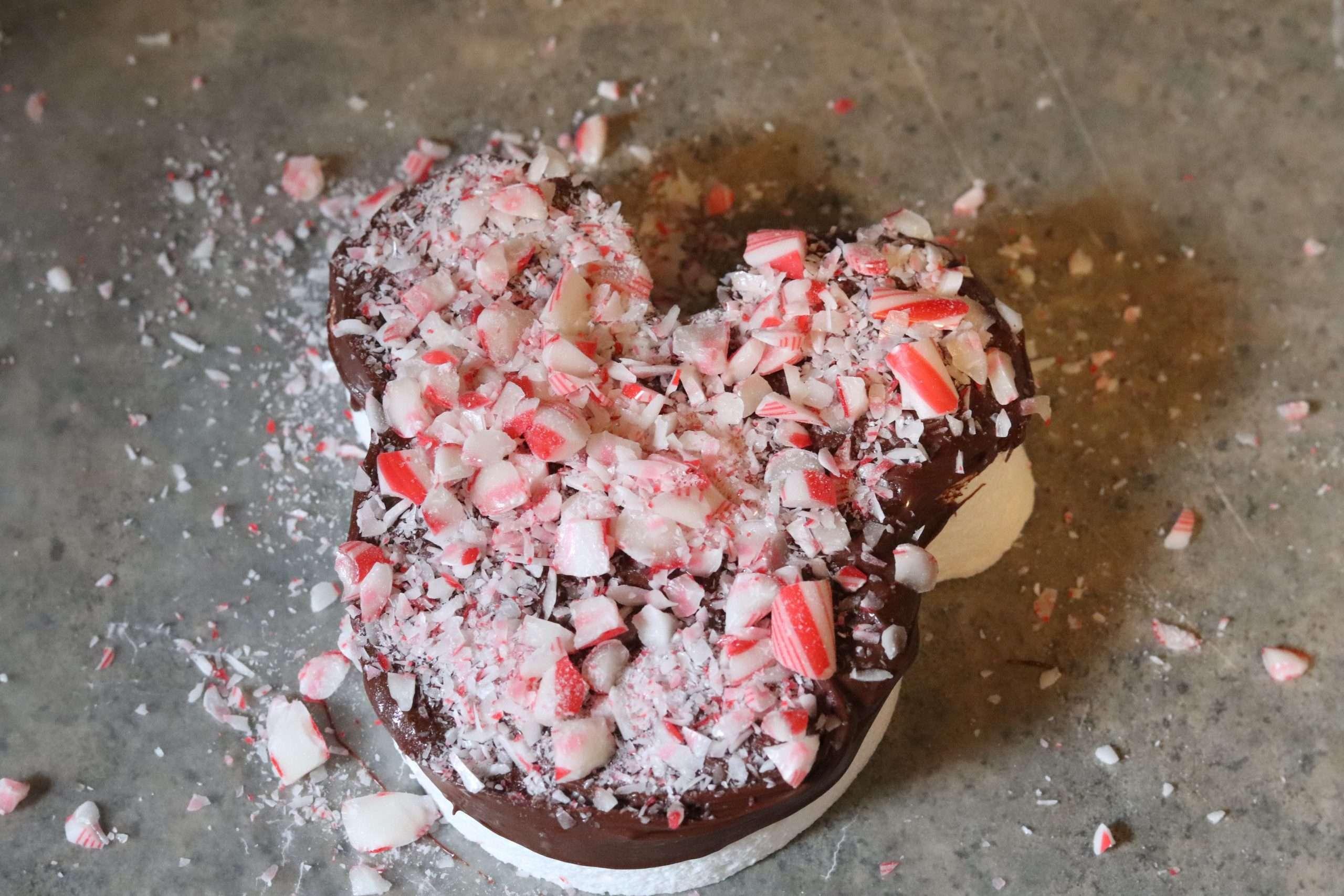 Chocolate Peppermint Mickey Marshmallow