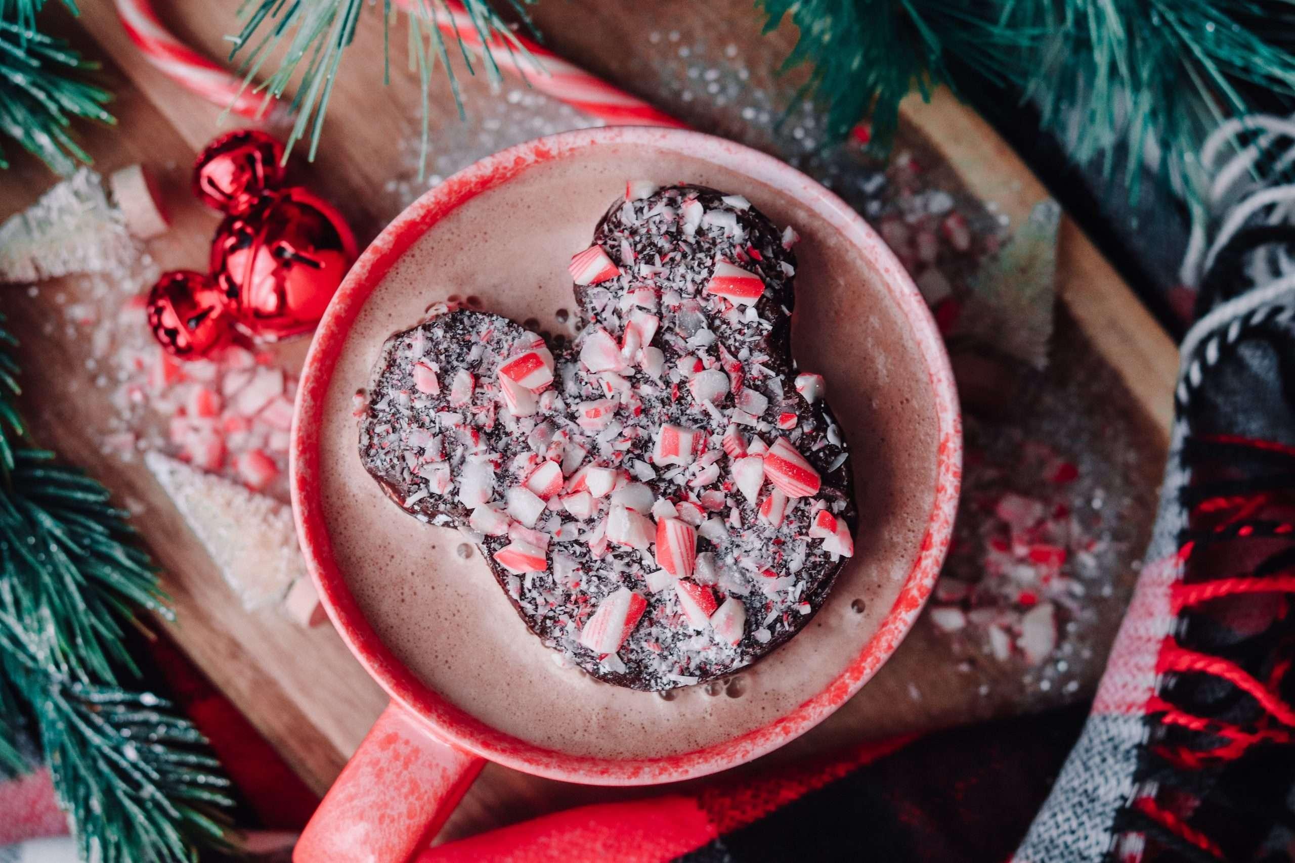 Chocolate Peppermint Mickey Marshmallows