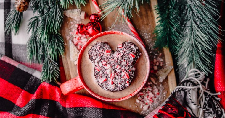 Chocolate Peppermint Mickey Marshmallows