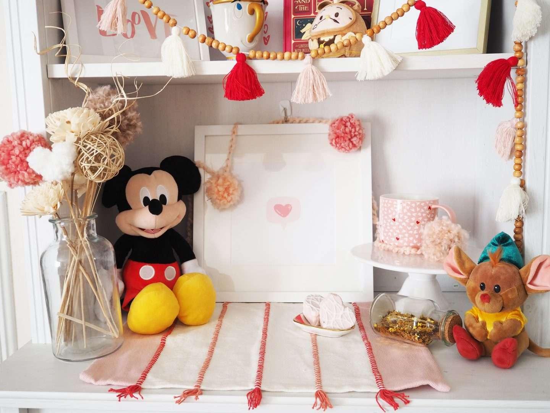 Disney Valentine's Day Decor