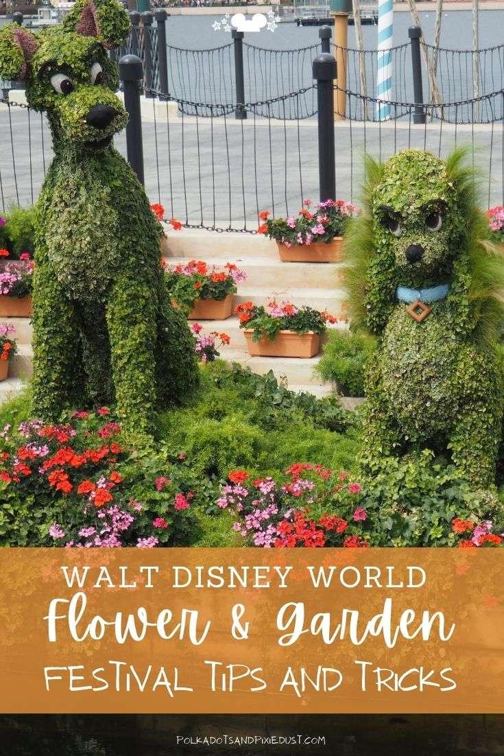 Flower and Garden Festival at Walt Disney World tips and tricks! FAQ and more! #polkadotpixies #disneyfestivals
