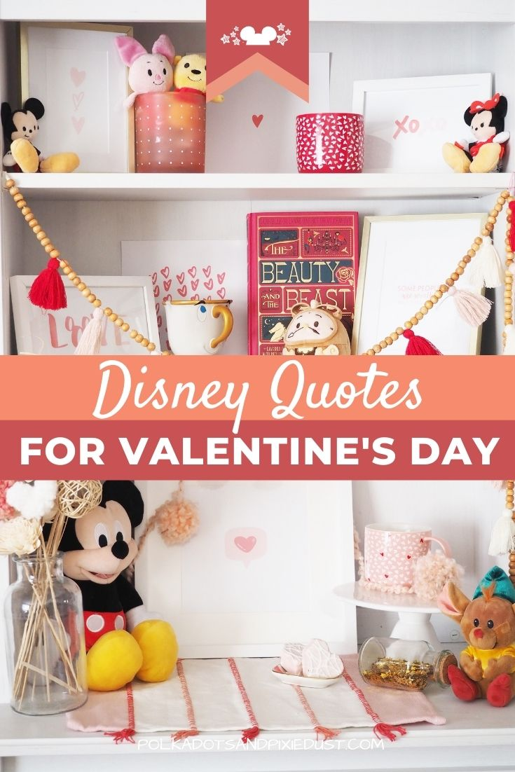 Disney Love Quotes for Valentine's Day at home!