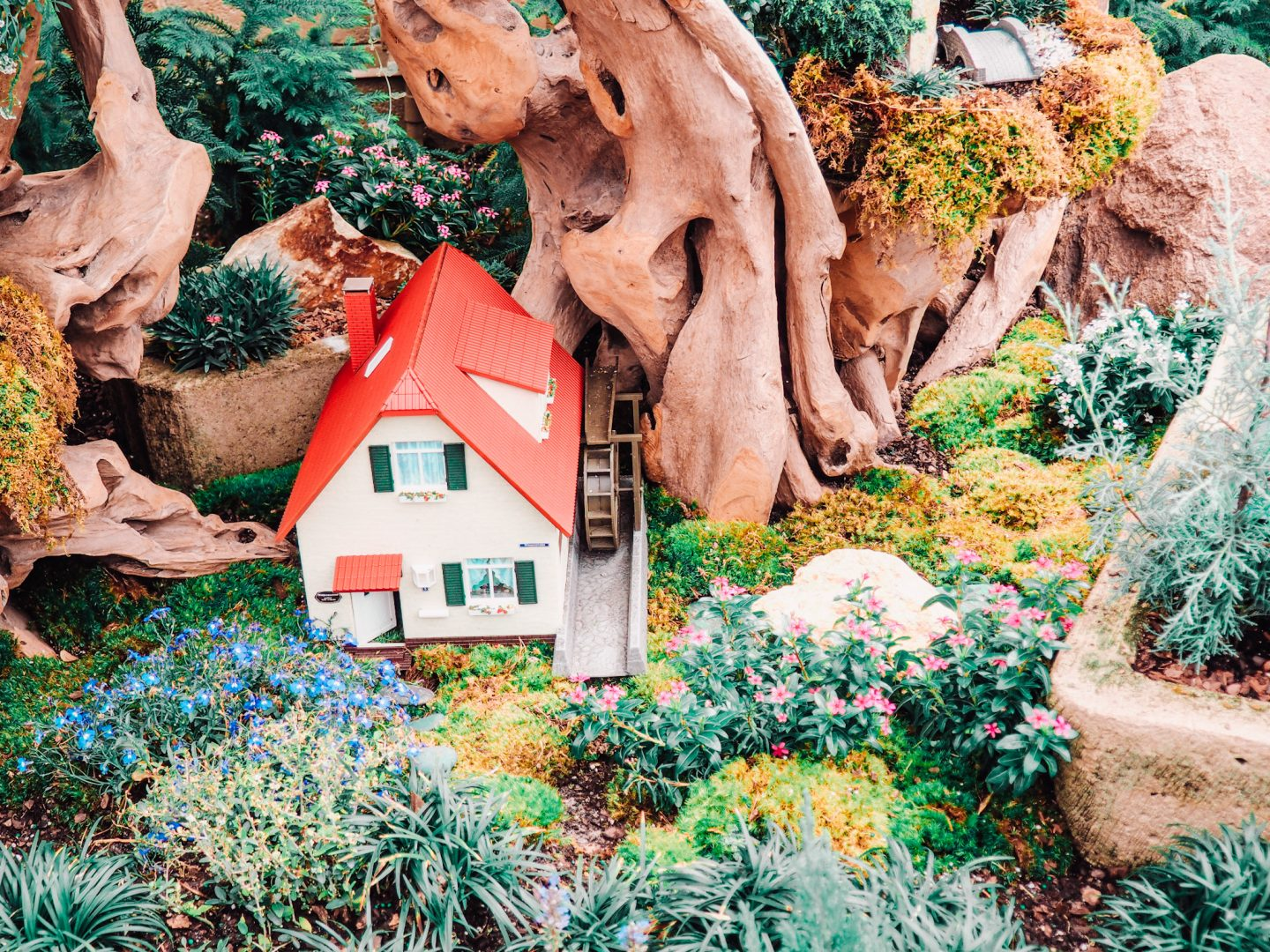 Fairy Gardens in Germany EPCOT