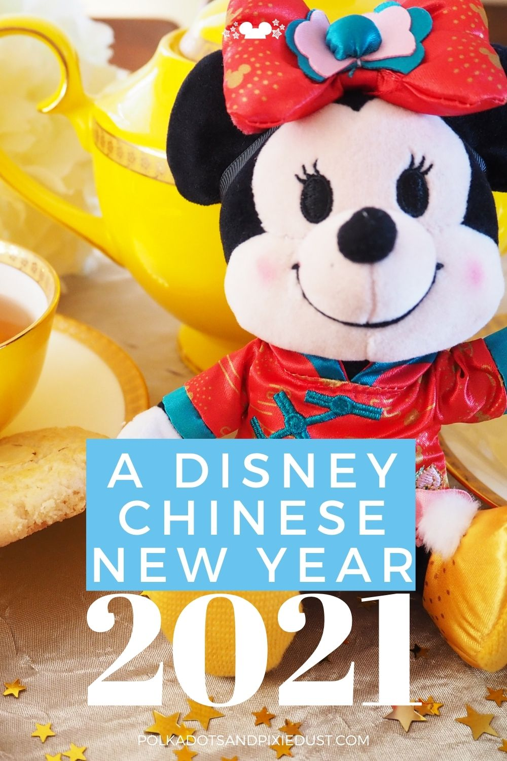 Celebrate a Disney Chinese New Year at home with almond cookies, activities, and a Disney Chinese Zodiac from Shanghai Disneyland. #polkadotpixies #disneyparties