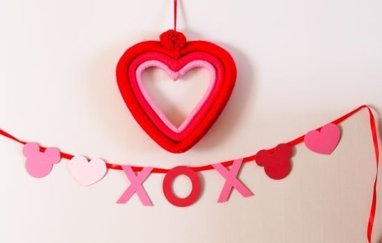 Disney Valentine's Day DIY Crafts and Decor