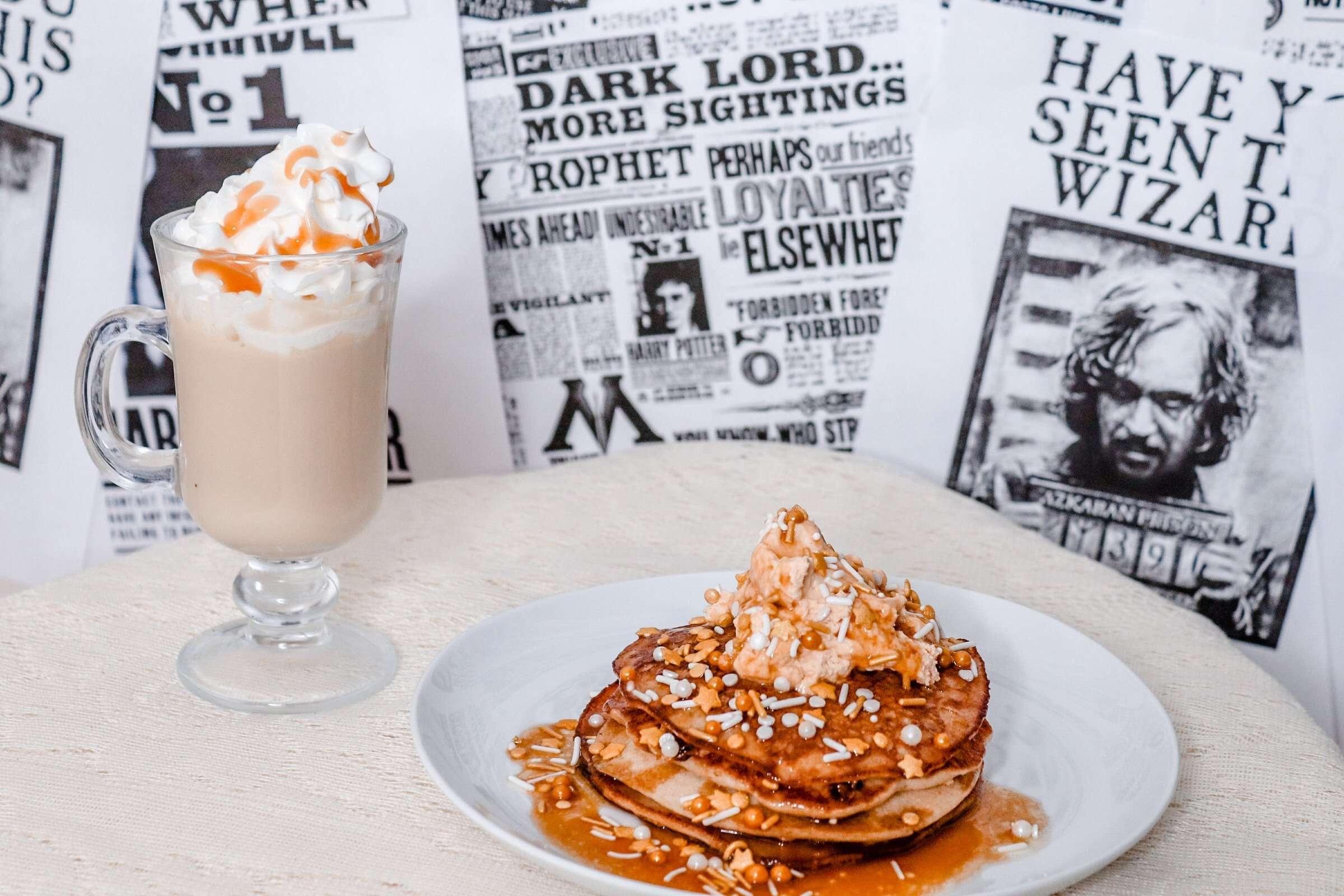 Harry Potter Butterbeer Pancake