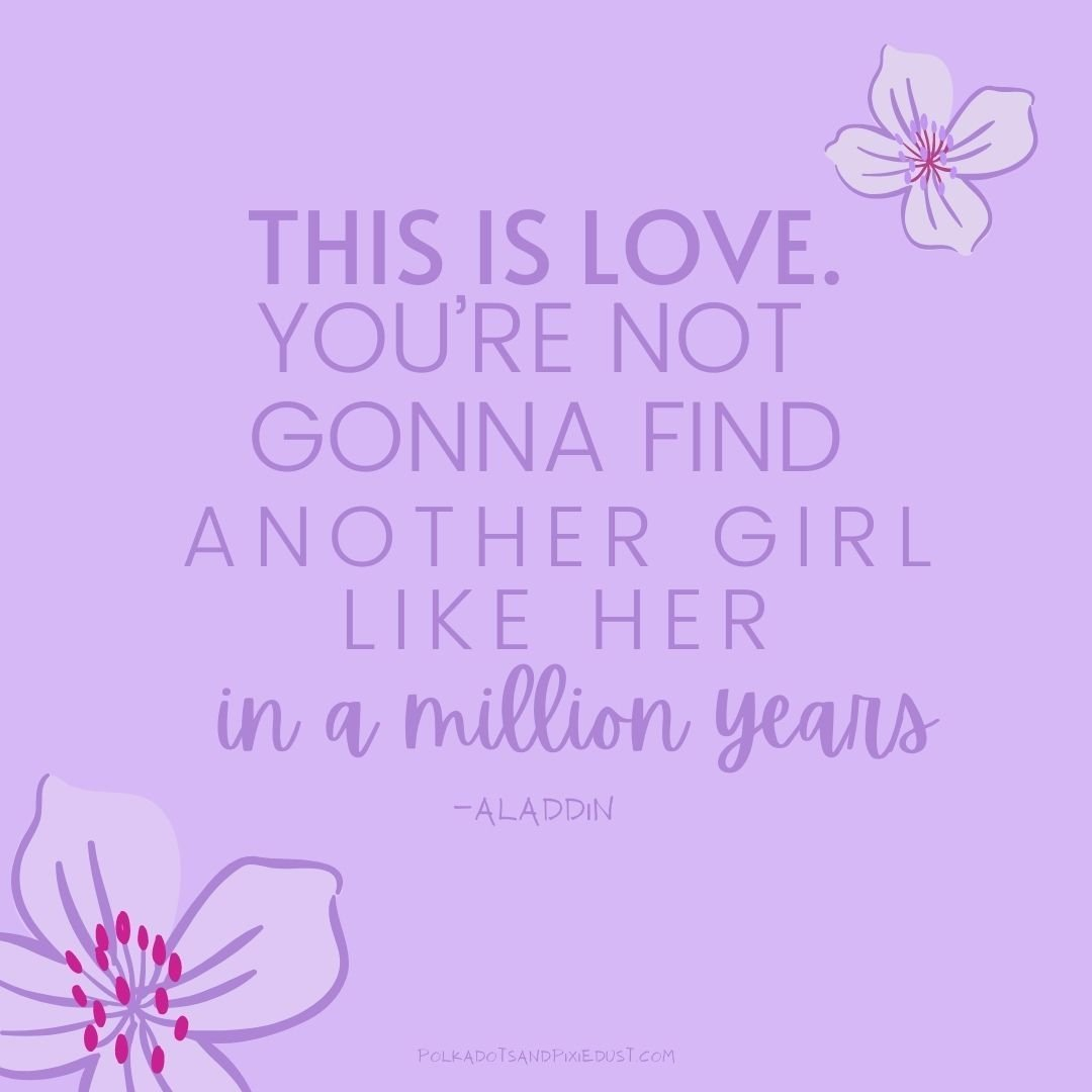 Aladdin Quotes Valentines Day