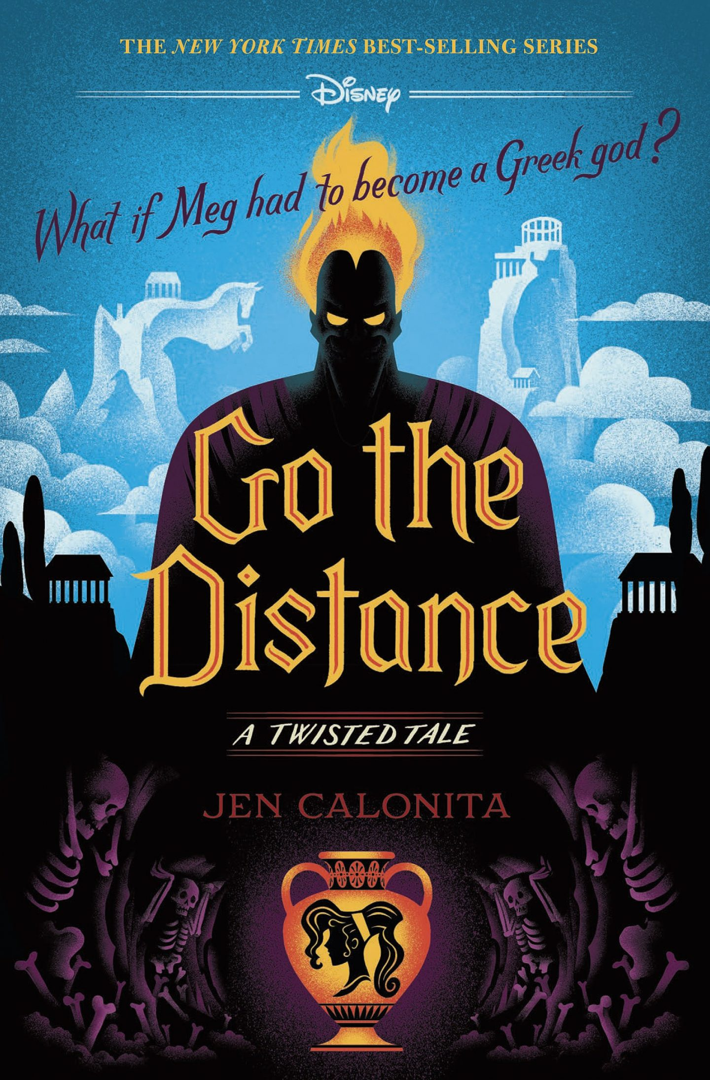 Disney Twisted Tale Go the Distance Hercules