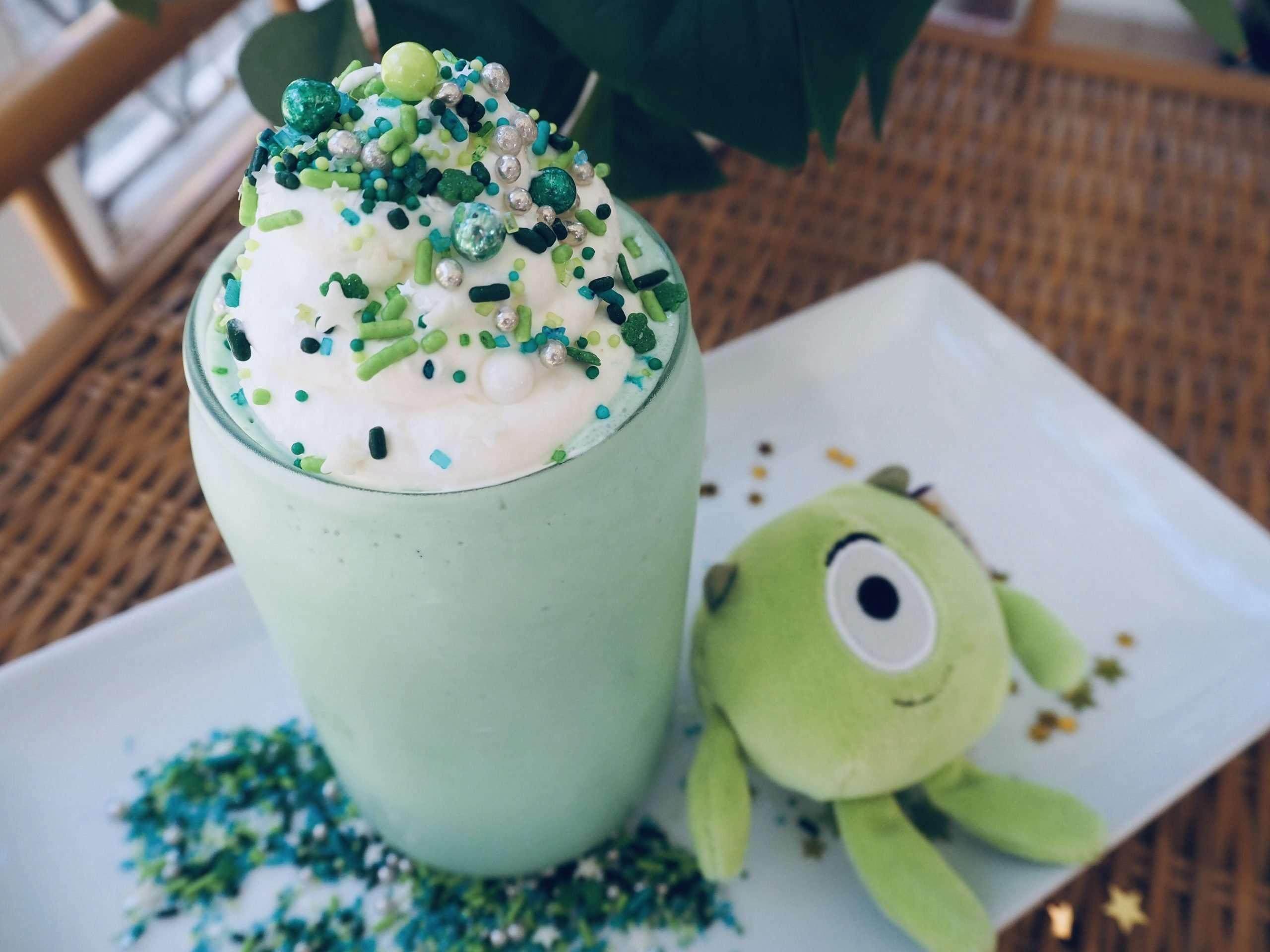 A Disney St. Patrick's Day Shamrock Milkshake Recipe