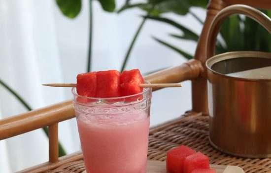 Flower and Garden Watermelon Cucumber Slush Copycat Recipe