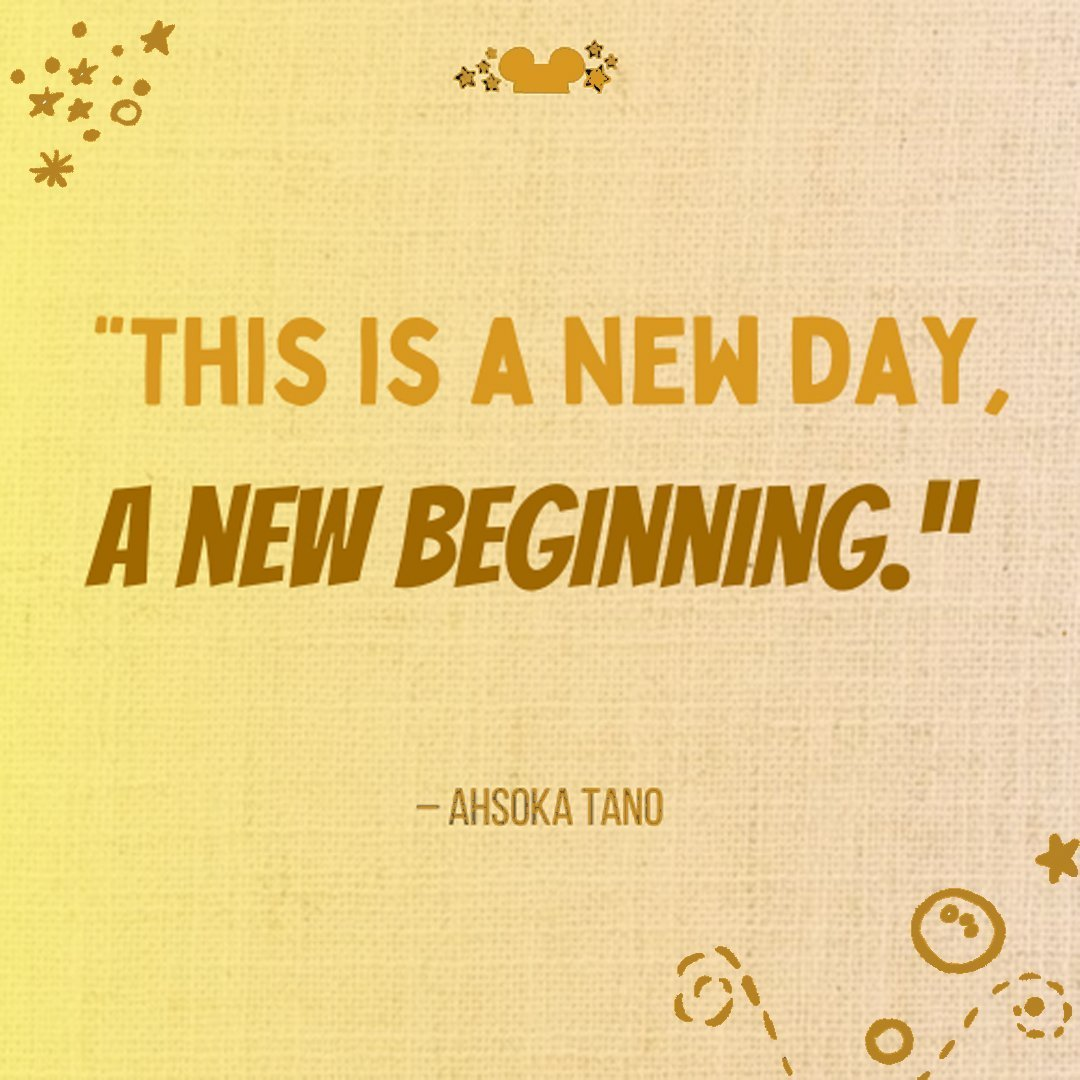 This is a New Day a New Beginning