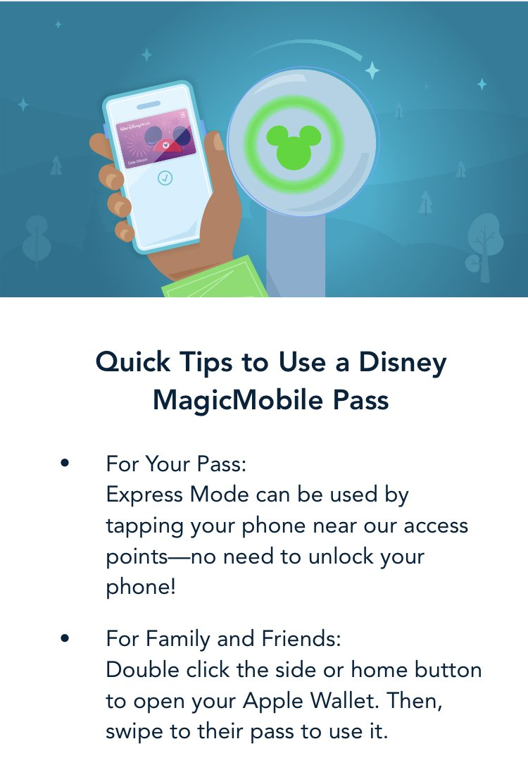 How to use disney's Magic Mobile Serive