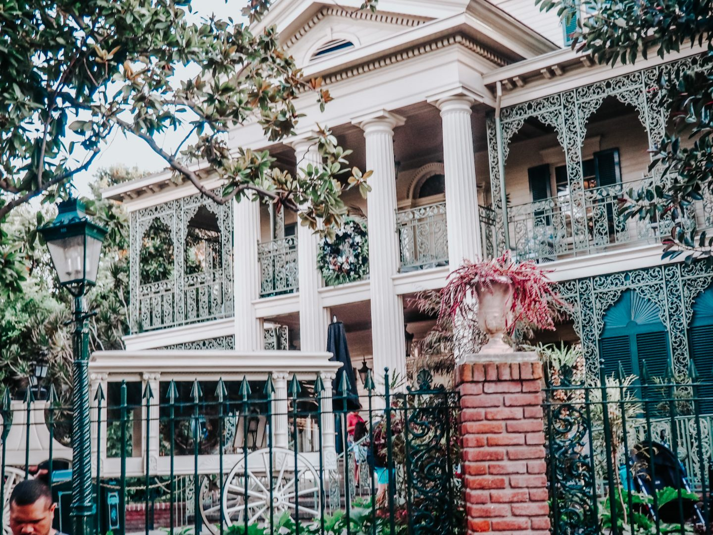 New Orleans Square Haunted Mansion