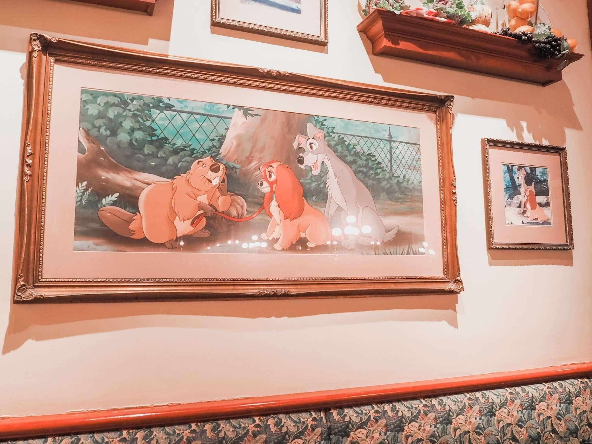 Tony's Town Square Restaurant Review Magic Kingdom