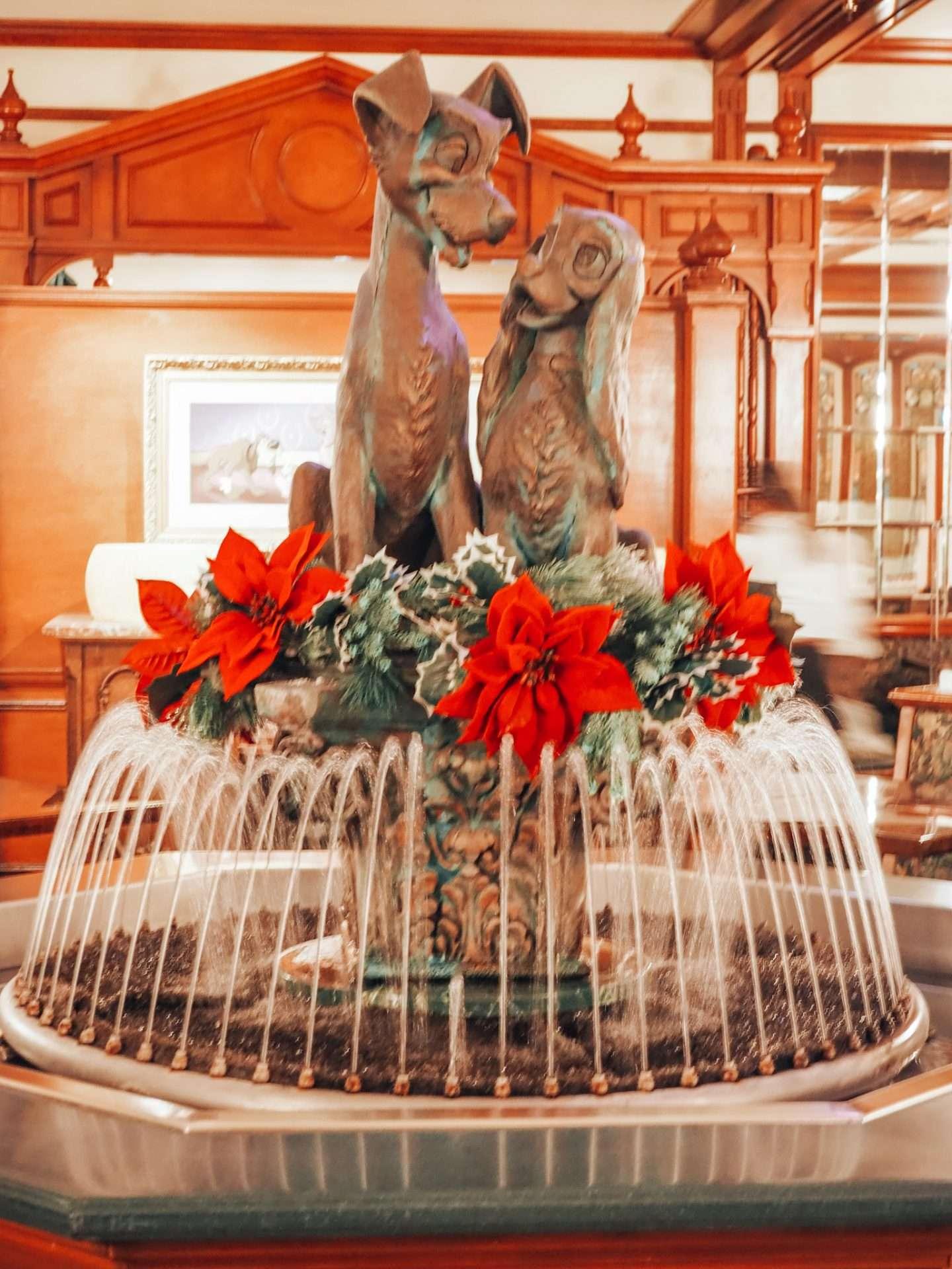 Tony's Town Square Restaurant Fountain