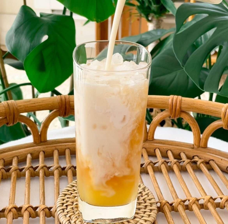 Dole Whip Tea Latte