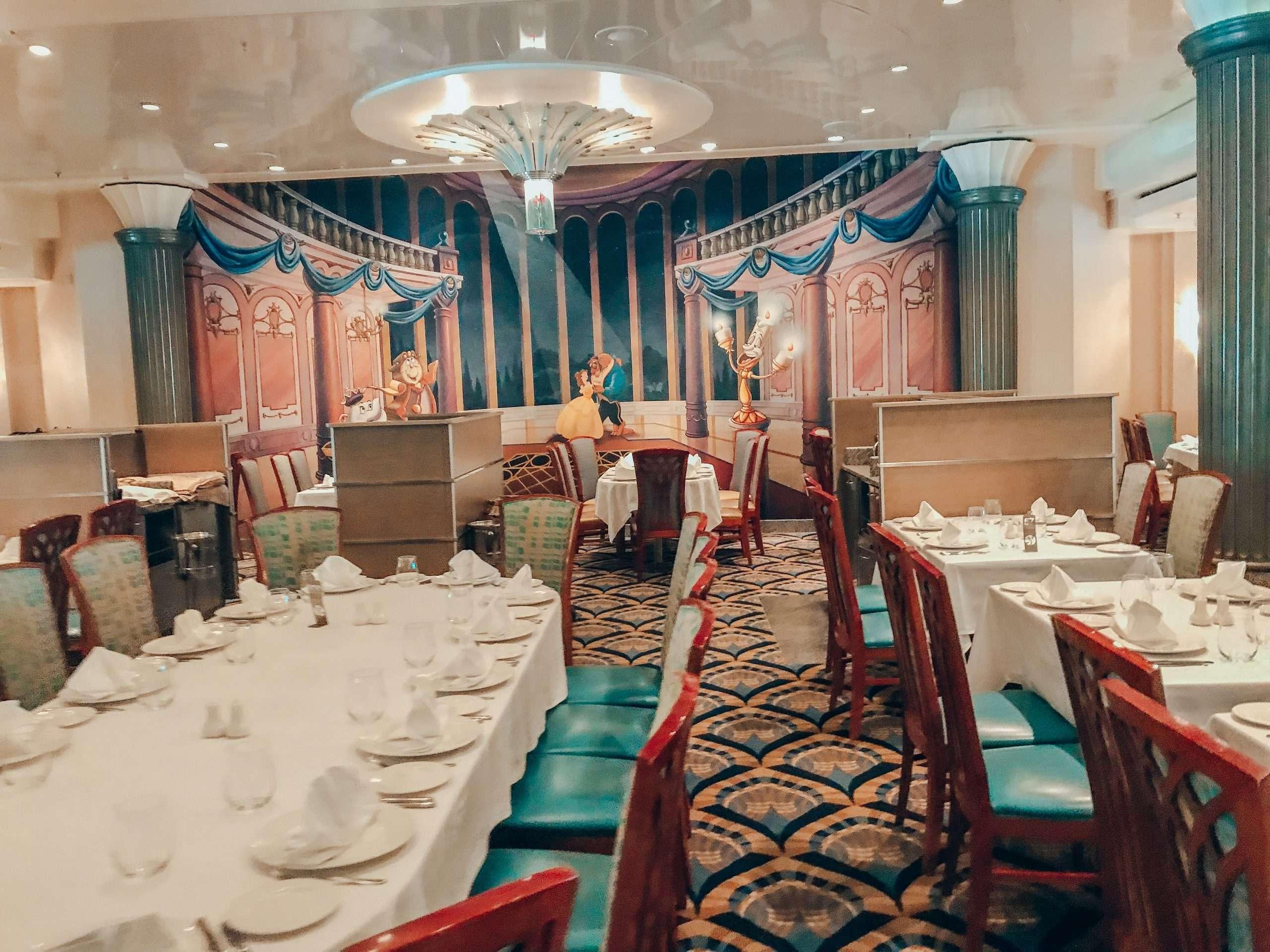 DCL Disney Magic restaurant