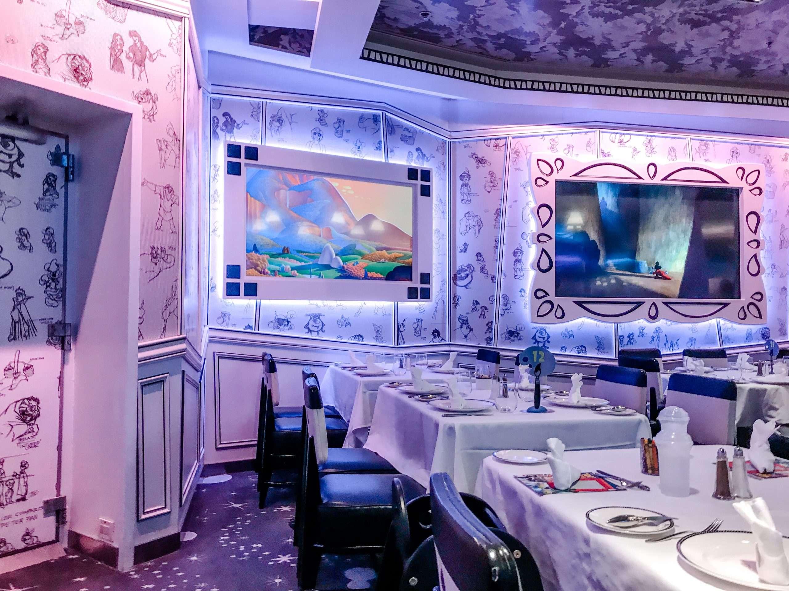 DCL Disney Magic dining