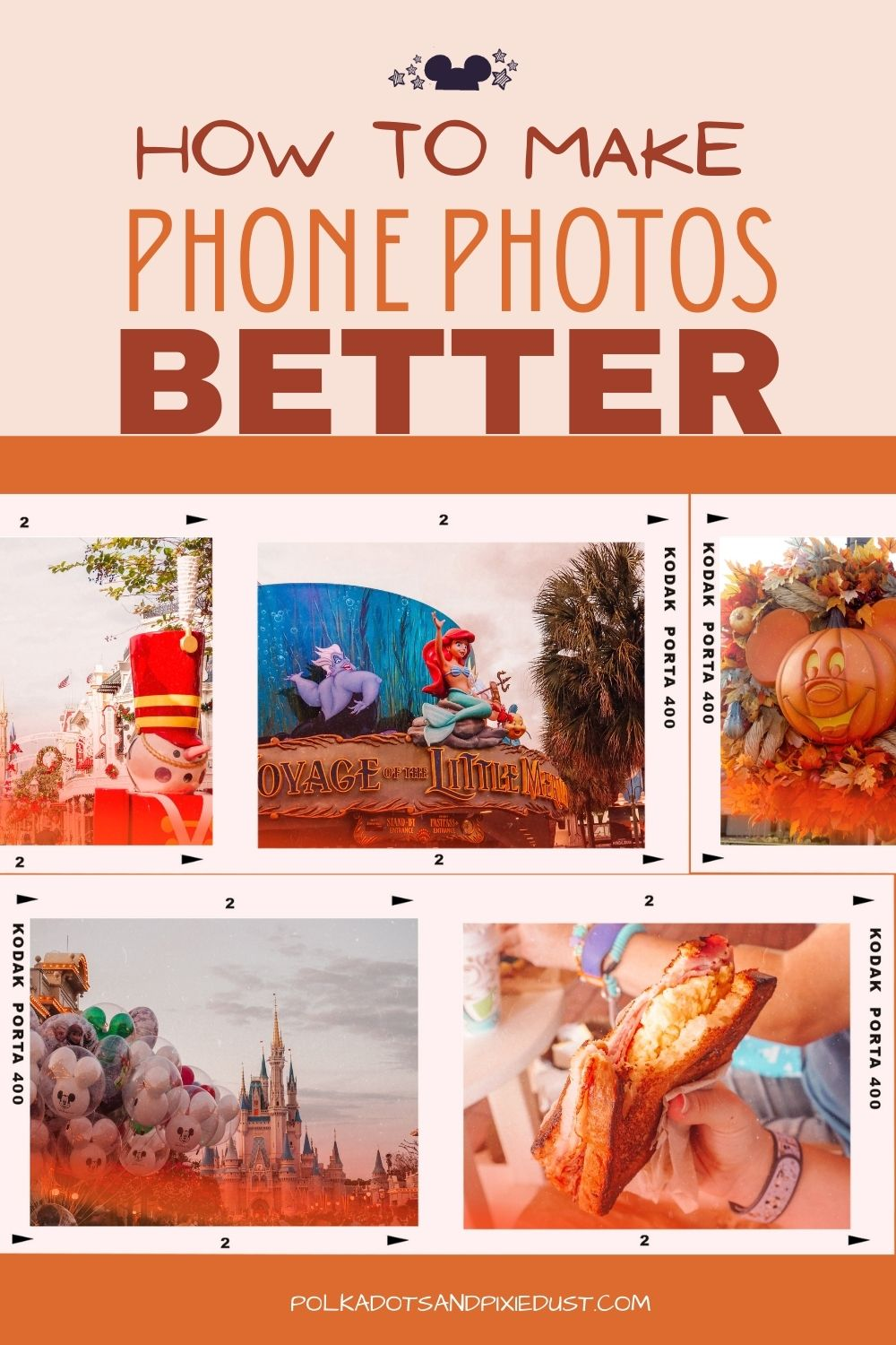 7 ways you can take better pictures with your phone. Everything you need for great Phone Photography! All our tips. #disneytips #disneyphotography #phonephotography