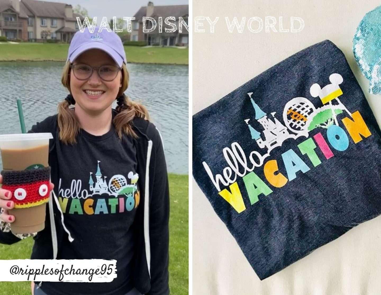 Hello Vacation Disney Family shirt