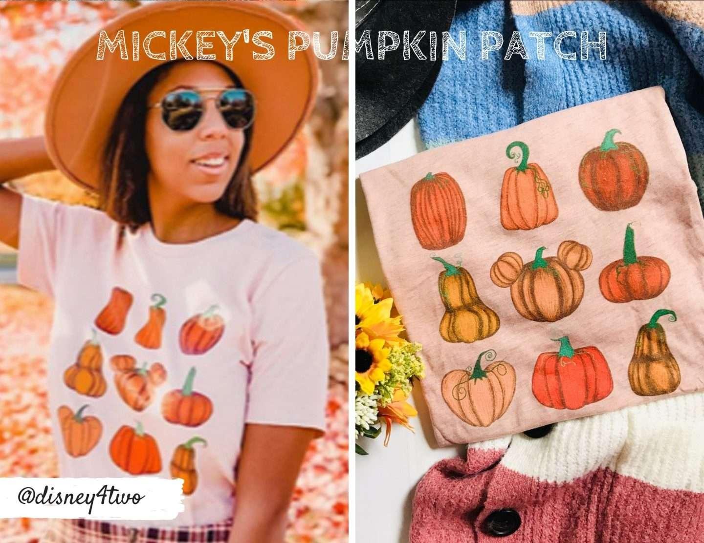 Mickey's Pumpkin Patch Shirt