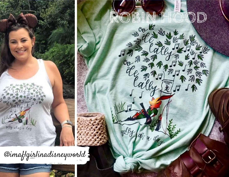 Disney Robin Hood Shirt