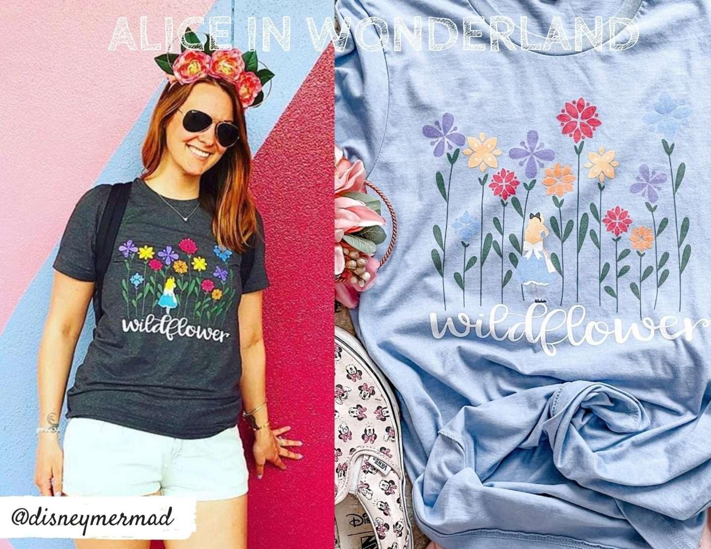 Disney Flower and Garden Shirts
